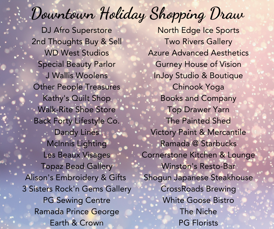 Holiday Shopping Draw 1